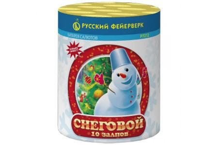 "Батарея салютов Снеговой Р7212 (0,8"" х 10)"