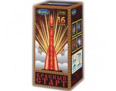 "Батарея салютов Красный старт Р7563 (1,25"" х 16)"