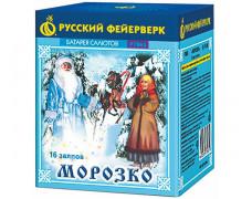 """Батарея салютов Морозко Р7065 (0,8"""" х 16)"""