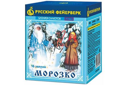 "Батарея салютов Морозушко Р7065 (0,8"" х 16)"