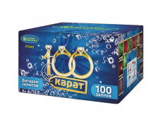 "Батарея салютов 100 Карат Р7332 (0,8"" х 100 залпов)"