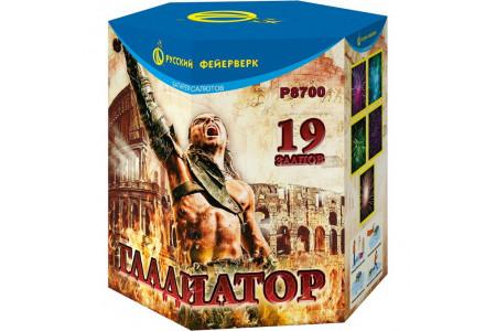 "Батарея салютов Гладиатор Р8700 (1,8"" х 19)"