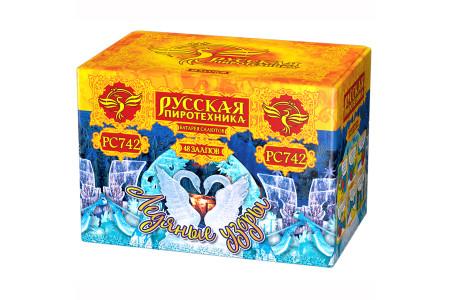 "Батарея салютов Ледяные узоры РС742 (1"" х 49)"