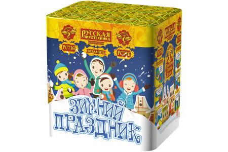 """Батарея салютов Зимний праздник РС716 (1"""" х 20)"""