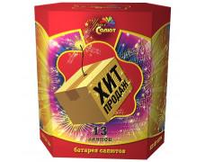 "Батарея салютов Хит продаж СП1001301 (1"" х 13)"